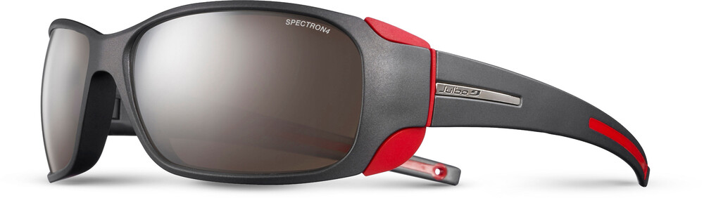 Julbo Montebianco Spectron 4 Sunglasses Matt Black/Red-Brown Flash Silver 2018 Sonnenbrillen GO2dLcU